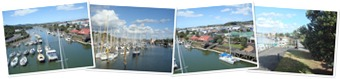 View Whangarei Town Basin Marina views